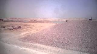 جولة بقناة السويس الجديدة لقطات من التكريك وعمل تبطين بالحجارة لضفتى القناة مايو2015