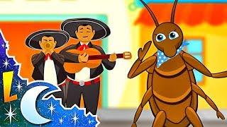 La Cucaracha ya no puede caminar | Canciones Infantiles | Videos para Niños | Lunacreciente