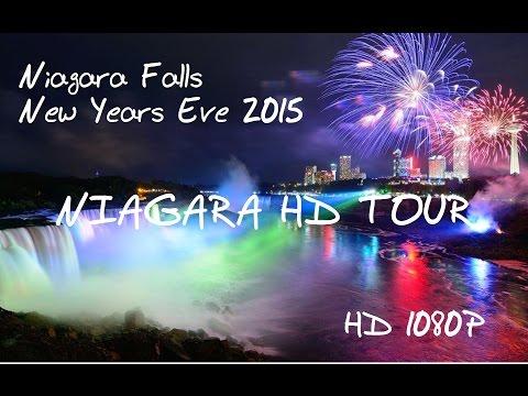 Niagara Falls - NYE 2015 - 2016 Marriott Fallsview Hotel, Clifton Hill, Journey Through The Falls