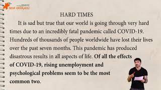 Writing - Effect Essay / Covid-19 (Bana bir essay yaz)