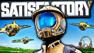 New World, New Drones, NEW PLAN! - Satisfactory Update 4 Gameplay