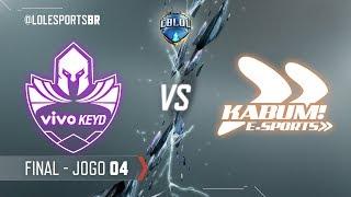 CBLoL 2018: Vivo Keyd x KaBuM (Jogo 4) | Final - 1ª Etapa