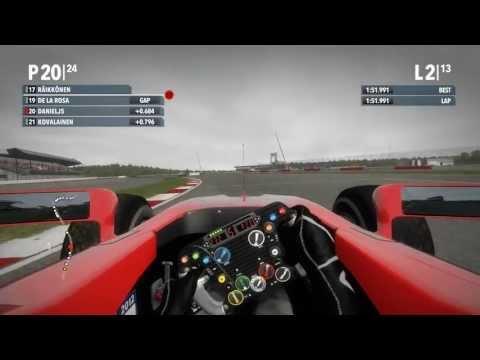 F1 2012 Career mode, career 5, season 1 Silverstone, Marussia