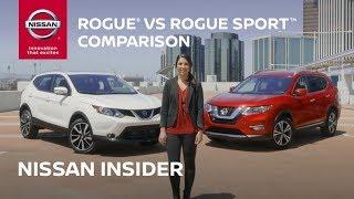 2017 Nissan Rogue vs. Rogue Sport Comparison - Nissan Insider