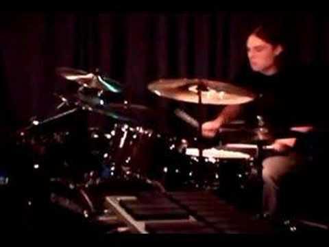 Jazz, Rock, Fusion drummer Walker Adams Drum Solo