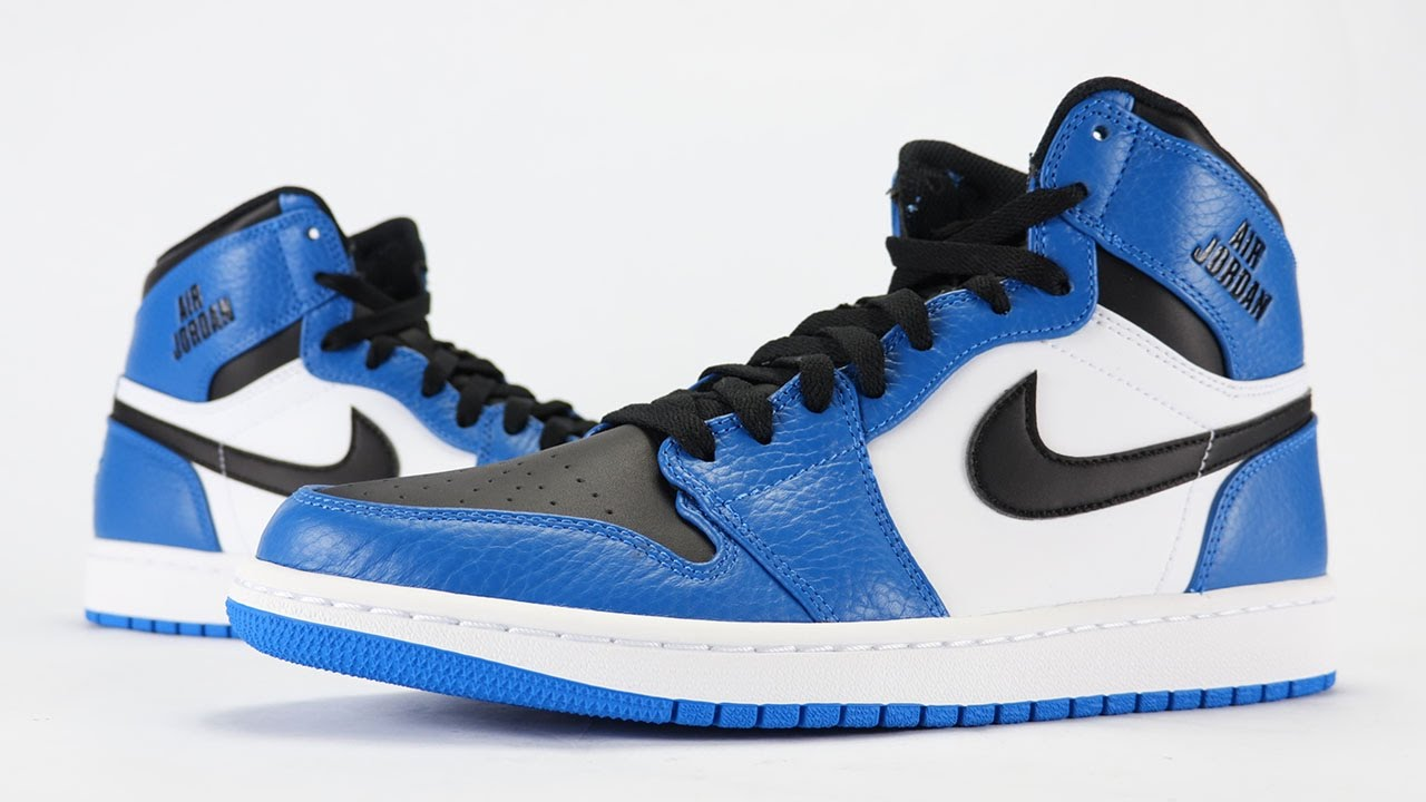 c9a25bd0b7ff04 Air Jordan 1 Rare Air Soar Blue Royal Review + On Feet - YouTube