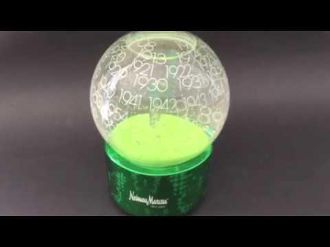 Neiman Marcus Green Globe