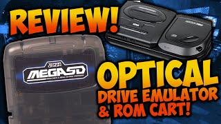 Mega SD Review - A Sega CD Optical Drive Emulator & ROM Cart!!!