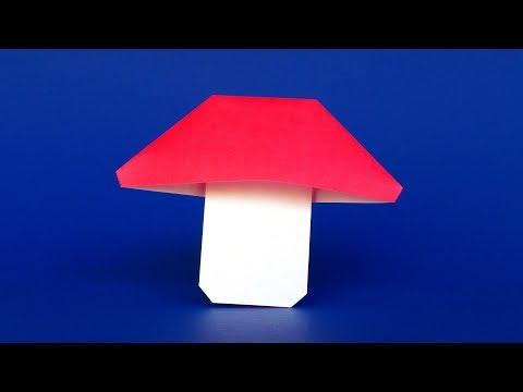 Easy Origami Mushroom Tutorial 🍄 Simple Step-by-step Instructions
