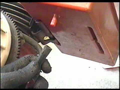 part 1 of 2 - how to replace the fuel line on your snowblower - tecumseh  snowking engine - youtube