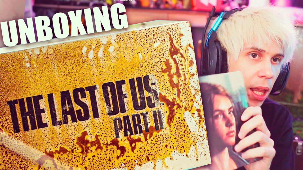 UNBOXING CAJA GIGANTE EXCLUSIVA - The Last of Us Parte 2
