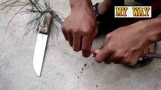Cara Membuat Gasing Dari Botol Minyak Rambut