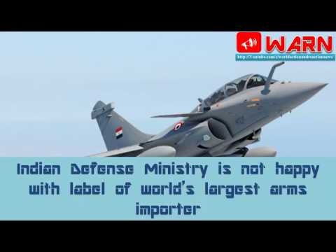 Indian Defence Ministry is not happy with label of world's largest arms importer