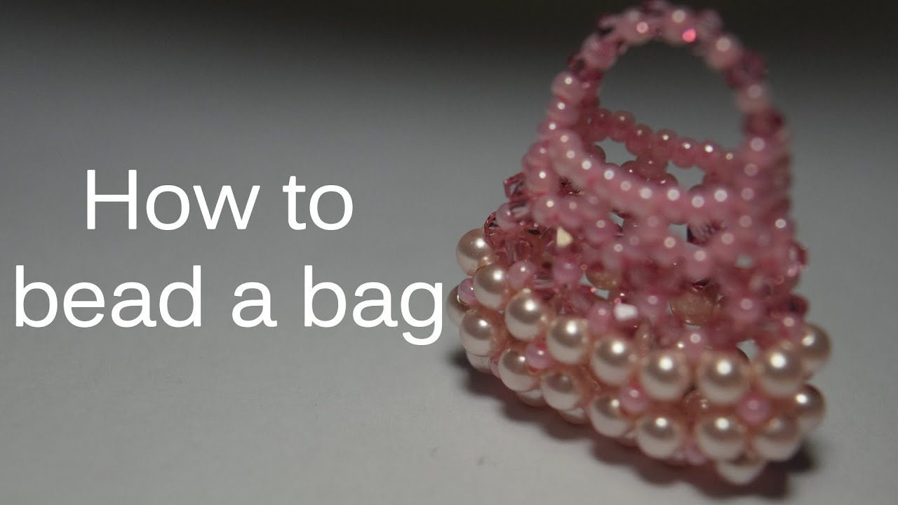How to bead a bag - YouTube