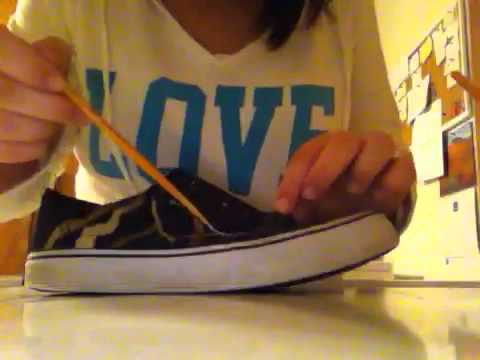64259a3b8db How to bleach your old converse (air walks) - YouTube