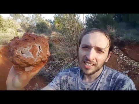 PROSPECTION : découverte de géodes dans le Var