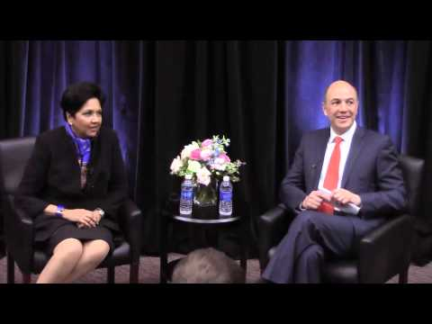 Indra Nooyi, Pepsi CEO, speaks at Smith School of Business