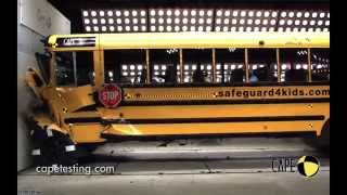School Bus Crash Test Inside & Out