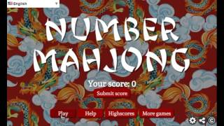Number Mahjong | Play Free Online Games