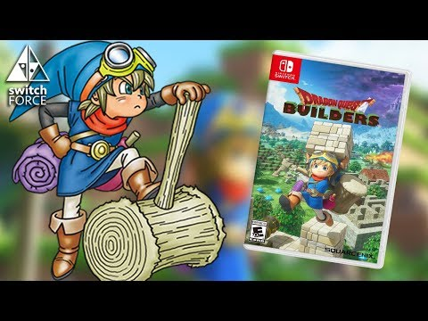 Dragon Quest Builders Switch Gameplay - Demo Gameplay