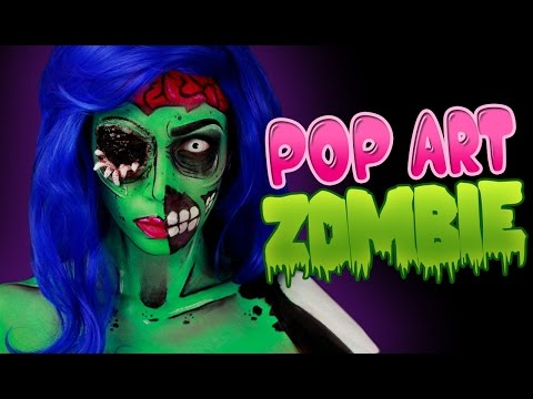 Pop Art Zombie - MAKEUP TUTORIAL | Anaïs Marion