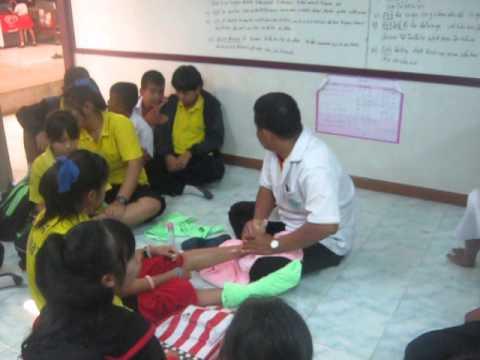 เรียนนวดแผนไทยในโรงเรียนประถมศึกษาจังหวัดเพชรบูรณ์