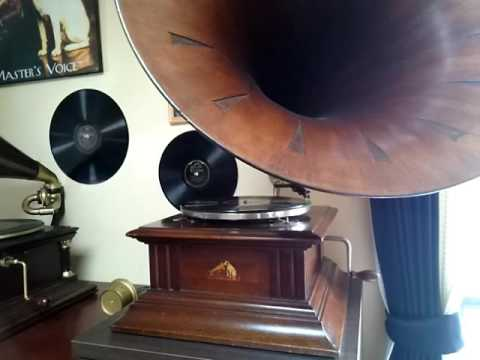 Enrico Caruso (エンリコ・カルーソ)  ♪Over There♪(オーヴァー・ゼア)  1917年  78rpm Record  George M Cohan