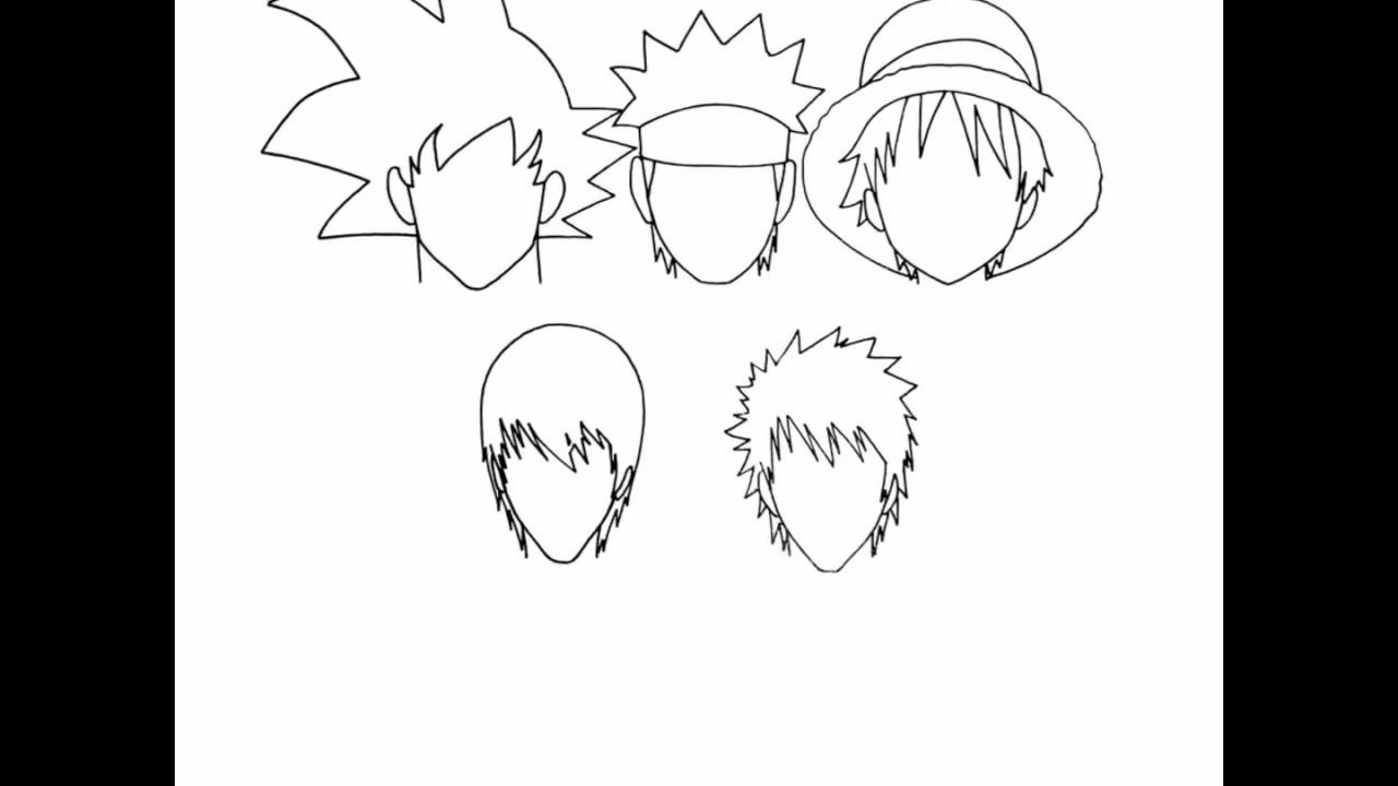 manga gesicht zeichnen  malvorlagen gratis