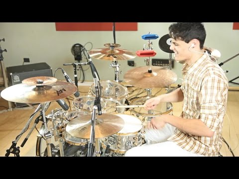 Bruno Mars - Locked Out Heaven ( Drum Cover by Pandi)
