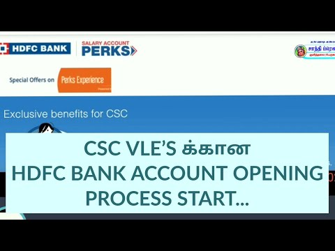 hdfc bank online sb account opening