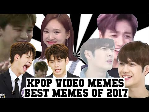 KPOP VIDEO MEMES | BEST OF KPOPMAYPOP2 2017 😂