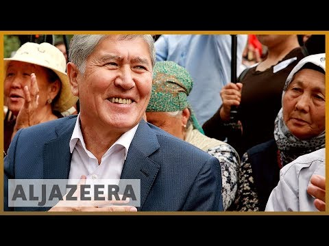 Kyrgyzstan's former President Atambayev detained thumbnail