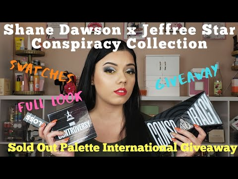 Jeffree Star x Shane Dawson Conspiracy Collection unboxing | giveaway