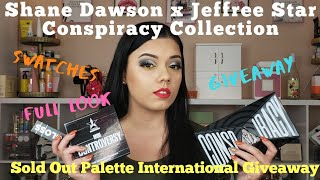 Shane Dawson x Jeffree Star Conspiracy Collection Reveal | Review | Swatches | Giveaway | TRVBeauty