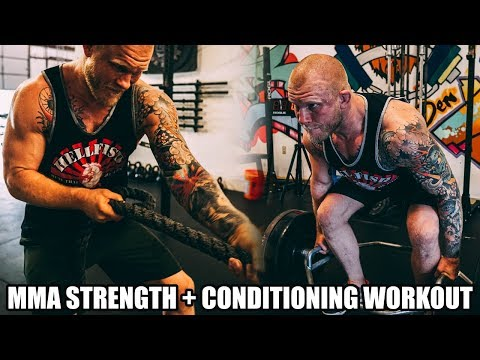 Strength & Conditioning Workout For MMA Fighter: TRY THIS WORKOUT