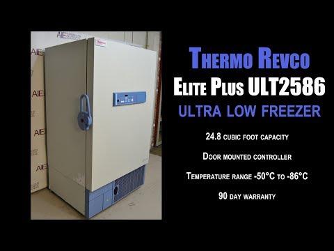 Thermo Revco Elite Plus ULT2586 Ultralow Freezer (2565FF FREEZER)
