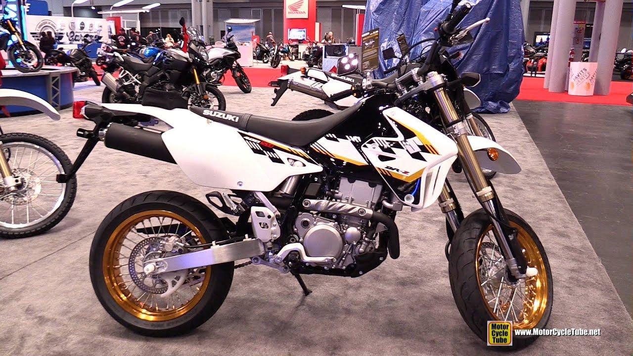 2015 suzuki dr-z 400sm - walkaround - 2014 new york motorcycle