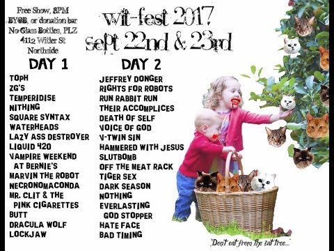 wit-fest 2017-second night- live@witler on the 8s (northside, ohio) 9/23/17