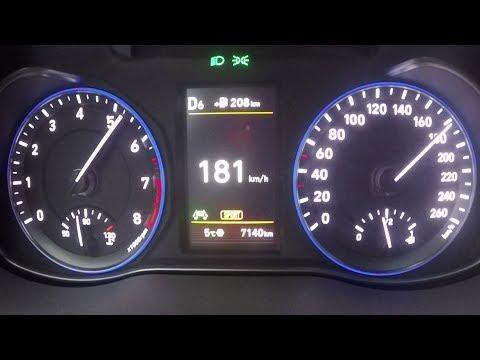 2018 Hyundai Kona 1.6 T-GDI 4WD 0-100 Kmh Kph 0-60 Mph Tachovideo Beschleunigung Acceleration