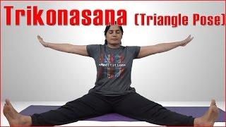 Ashtanga Yoga: Trikonasana (Triangle Pose) & Its Benefits