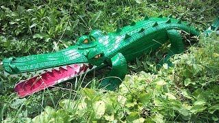 Как сделать поделку из шины - крокодил. Мастер класс(Такой простой мастер класс, как сделать поделку из шины - крокодила. Легко, просто. А как ваши дети будут..., 2014-09-04T08:37:08.000Z)