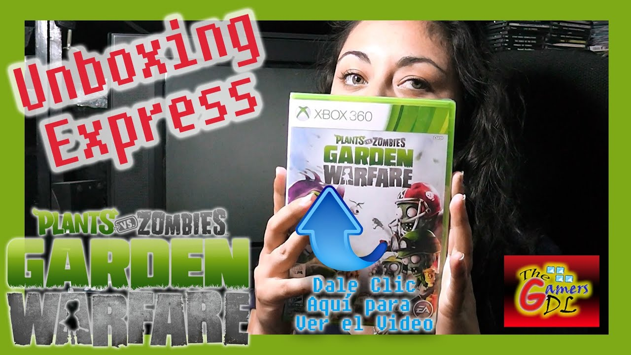 plants vs zombies garden warfare xbox 360 unboxing youtube - Plants Vs Zombies Garden Warfare 2 Xbox 360