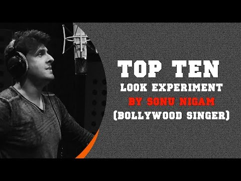 Top Ten Hairstyle Experiments By Sonu Nigam (Bollywood Singer)