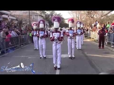Talladega College Drummajors - 2015 Endymion Mardi Gras Parade