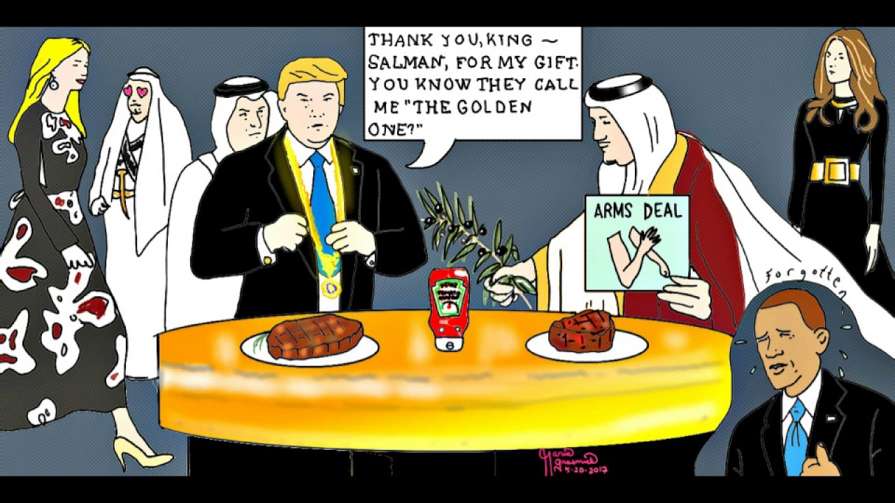 Image result for king salman cartoon