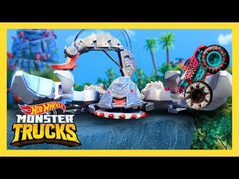 MONSTER TRUCKS RACE TO BE THE KING OF CRUSH MOUNTAIN! | Mons