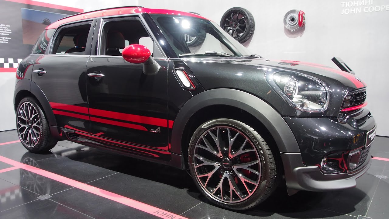 mini john cooper works countryman exterior and interior. Black Bedroom Furniture Sets. Home Design Ideas