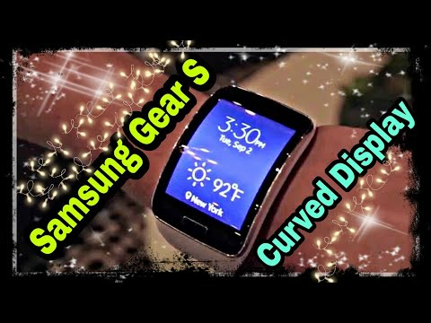 SAMSUNG GEAR S UNBOXING AND REVIEW IN 2020