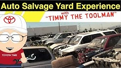 The Auto Salvage Yard Experience