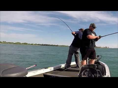 DETROIT RIVER FISHING AT ITS BEST